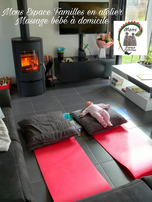 Massage Bébé à domicile